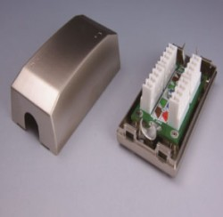 GEO PLUS - Geoplus Cat6 Bağlantı Modulü Metal Kasa.