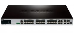 D-LINK - D-Link Dgs-3420-28Sc 24-Ports Sfp L2+ Management Switch With 4 Combo Ports 10/100/1000Base-T/Sfp And 4-Ports Sfp+.