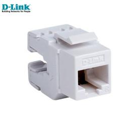 D-Link NKJ-C6WHI1B21 Cat6 Utp Keystone Jack - Thumbnail