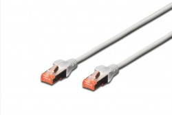 DIGITUS - Digitus Cat 6 S-Ftp Patch Cable, Lsoh, Cu, Awg 27/7, 1m, Gri.