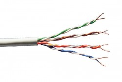 DIGITUS - Digitus Cat 6 U-Utp Installation Cable, Raw, Lsoh, Awg23, Simplex, Color Grey 500mt.