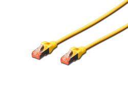 DIGITUS - Digitus Patch Kablo, S-FTP, Cat.6, Halogenfree, AWG 27/7, 3 metre, Sarı Renk