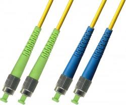 OEM - Oem Fo. Duplex P.Cord Fc(Apc)/Fc Sm 9/125µ 5 Mt.