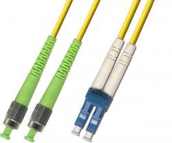 OEM - Oem Fo. Duplex P.Cord Fc(Apc)/Lc Sm 9/125µ 2 Mt.