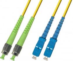 OEM - Oem Fo. Duplex P.Cord Fc(Apc)/Sc Sm 9/125µ 3 Mt.