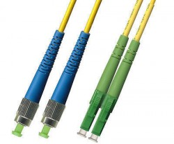 OEM - Oem Fo. Duplex P.Cord Lc(Apc)/Fc Sm 9/125µ 1 Mt.