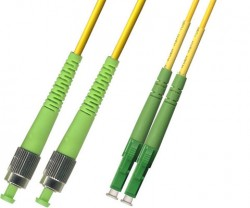 OEM - Oem Fo. Duplex P.Cord Lc(Apc)/Fc(Apc) Sm 9/125µ 10 Mt.