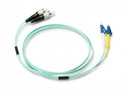 OEM - Oem Fo. Duplex P.Cord Lc/Fc Om3 50/125µ 10 Mt.