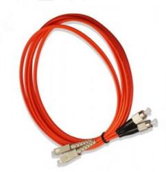 OEM - Oem Fo. Duplex P.Cord Sc/Fc Mm 50/125µ 5 Mt.