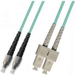 OEM - Oem Fo. Duplex P.Cord Sc/Fc Om3 50/125µ 3 Mt.