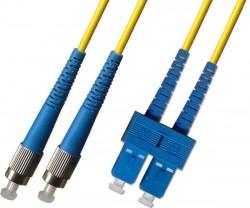 OEM - Oem Fo. Duplex P.Cord Sc/Fc Sm 9/125µ 10 Mt.