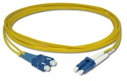 OEM - Oem Fo. Duplex P.Cord Sc/Lc Sm 9/125µ 5 Mt.