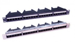 GEO PLUS - Geoplus 24 Port Modular 4 Kasetli Data Center Patch Panel.