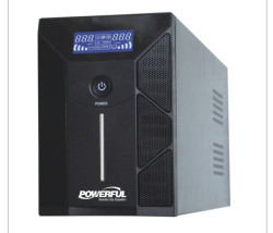 POWERFUL - Powerful Pld-3000 3000Va Line Interactive Ups ( 4x12V 9Ah Akü )